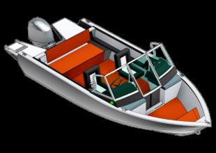 BowRider LargeBow-BR <br> LB<br> Großes Cockpit mit offenem Bug